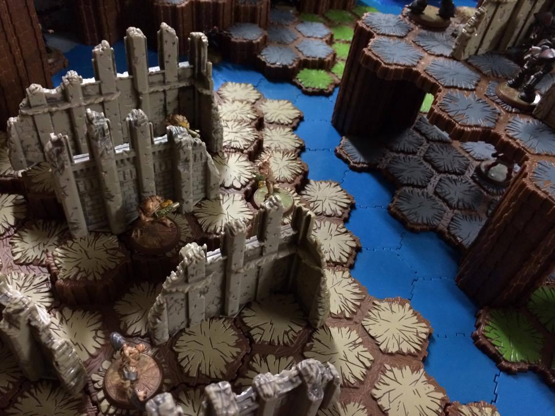 Heroscape BF1 desert ruins